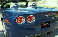 E21605 Light Cover-Tail Lights-Polished Flame-4 Pieces-05-13