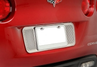 E21611 Tag Back-License Plate-Perforated-Polished-05-13