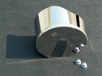 E21665 Cover-Brake Booster-Polished-Stainless Steel-09-13