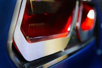 E21821 Bezel Trim Kit-Tail Lights-Polished or Brushed-Stainless Steel-W/ C7 Emblem-8 pieces-14-17