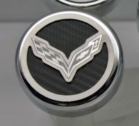 E21874 Cap Set-Engine Fluids-Carbon Fiber-Colors-C7 Crossed Flags-Manual-6 pieces-14-17