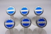 E21878 Cap Set-Engine Fluids-Carbon Fiber-Colors-Corvette Script-Manual-6 pieces-14-17