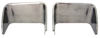 E2597 BEZEL-EXHAUST-POLISHED STAINLESS STEEL-PAIR-70-73