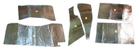 E4632B HEAT BARRIER KIT-UNDER CARPET-FRONT AND REAR-7 PIECES-63-67