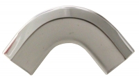 E9716 MOLDING-WINDSHIELD CORNER REVEAL-COUPE-STAINLESS STEEL-EACH-64-67