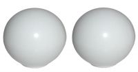 EC749 KNOB-DOOR PULL-WHITE-USA-PAIR-53-62